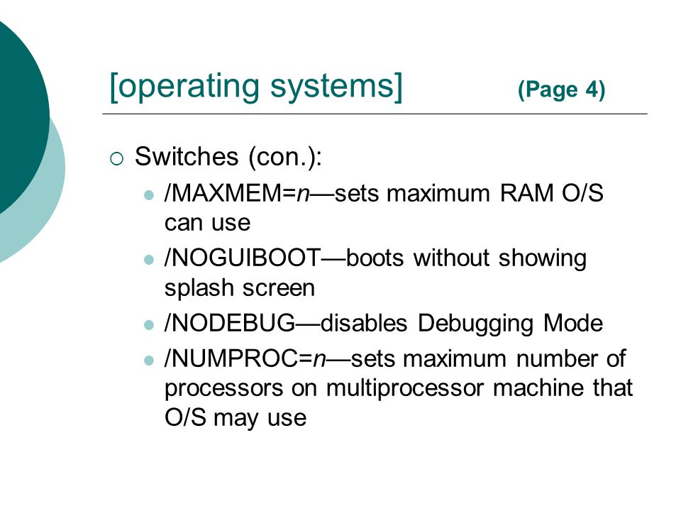[operating systems] (Page 4)